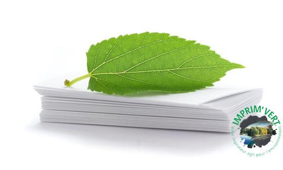 Imprimez écologique !